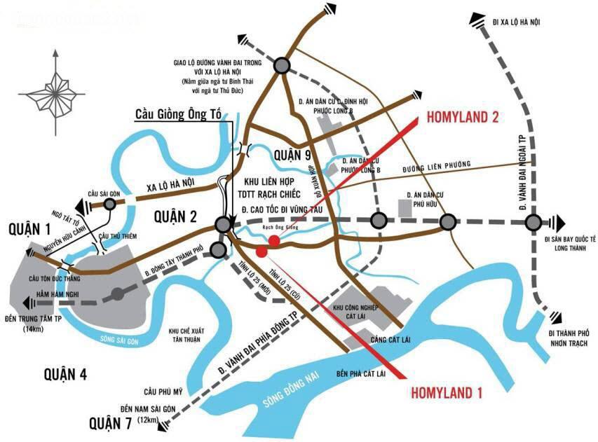 CH cao cấp Homyland 1 giá chỉ 17 triệu/m2 ngay mặt tiền Nguyễn Duy Trinh 939773
