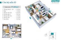Bán căn hộ trung tâm quận Bình Thạnh, giá chỉ 1,6 tỷ/căn hộ 2 PN, thanh toán chỉ 2%/tháng