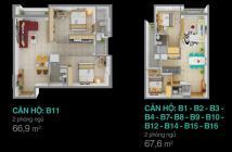 Bán lại căn hộ Melody- Mặt tiền ÂU CƠ- giá gốc 1,298 tỷ-LH 0907851655