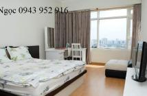 Cho thuê căn hộ Horizon, quận 1, đầy đủ tiện nghi, nội thất cao cấp, 2 phòng ngủ + 1 phòng studio