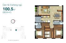 Bán lại căn hộ Lexington B25-15, 3pn, hướng Đông – Bắc, giá rẻ hơn 250tr