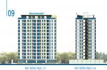 Sacomreal mở bán căn hộ Carillon 3 Tân Bình, giá chỉ từ 1.68 tỷ 2PN (gồm VAT), view sân bay. LH: 0932.632.823