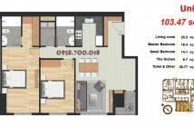 Cho thuê căn hộ Pearl Plaza tại 561A Điện Biên Phủ, Bình Thạnh, 2 phòng ngủ