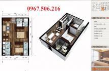 Chính chủ bán căn hộ 57,7m2 hướng Nam tòa V3 dự án The Vesta cần bán gấp. LH 0967.506.216