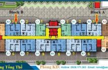 Chính chủ bán lại căn hộ Carillon 2, 89m2, 3PN, view Đông Nam, lầu thấp. LH: 0909735457