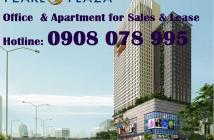Bán căn hộ Pearl Plaza 1PN, nội thất, tầng cao, view sông - Cell: 0908 078 995