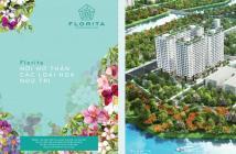 Xuất ngoại cần sang nhượng lại căn 2 phòng ngủ 57m2 dự án Florita - Quận 7. Giá 1,687 tỷ