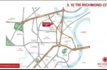 Bán CHCC MT Nguyễn Xí, Bình Thạnh giá 25 tr/m2. Tặng 1 năm phí quản lý và CK đến 18%, 0917184988