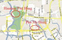 Bán căn hộ Him Lam Riverside Quận 7, 2 phòng ngủ, 1 nhà vệ sinh, tặng nội thất, hướng Tây