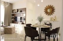 Căn hộ Sài Gòn Mia liền kề quận 1 giá chỉ từ 1,8 tỷ/căn, ck 10%-25%, tặng nội thất+phí quản lý