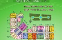 CH 8X Đầm Sen, mặt tiền đường Tô Hiệu, DT 48m2, nhận nhà trong năm, 860tr bao VAT, 0938 022 353
