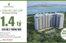Căn hộ ngay sông Sài Gòn chỉ 1,4 tỷ/căn 2PN, 2WC