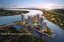 Bán căn hộ Thủ Thiêm Quận 2, 3 mặt giáp sông, view 180', giá 40 tr/m2