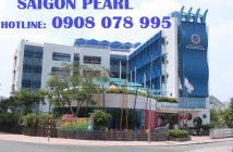 Bán CH Saigon Pearl  90m2 view Manor, tầng cao - Hotline: 0908 078 995