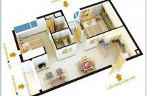 Chuyển công tác, bán gấp căn hộ Quang Thái, DT 63m2, căn góc, giá 1.65 tỷ, LH: 0902.456.404