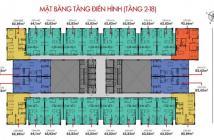 Bán căn hộ sắp giao nhà gần Đầm Sen căn hộ 8X Rainbow 2PN/64m2, trả góp 6tr/tháng