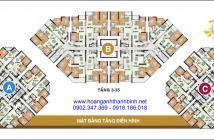 Bán căn hộ Hoàng Anh Thanh Bình, Q. 7, có 2PN, block A, DT: 73m2