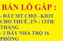 VỢ CHỒNG LY HÔN SANG 672m2 (24x28m) ĐẤT MẶT TIỀN CHỢ CHỈ 112 TRIỆU GẦN KCN TIỆN KINH DOANH