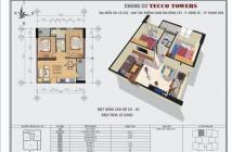 Căn hộ Tham Lương Tân Bình, bán lại căn 64.6m2, 2PN, 2WC, rẻ hơn giá CĐT