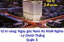 Bán căn hộ MT đường Nam Kỳ Khởi Nghĩa, Phường 9, Quận 3, TP. HCM diện tích 101m2
