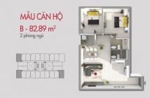 Căn hộ mặt tiền đường Bình Long Q. Bình Tân 83m2, giá chỉ 1.2 tỷ - CK 3% - 0937366638