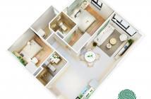 Căn hộ giá tốt nhất Quận 2, ngay Thủ Thiêm, giá 989 triệu/căn, 2 phòng ngủ