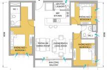 Sang căn 3PN Masteri giá 3,49 tỷ, view nội khu thoáng mát LH 0906 88 99 51