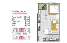 Bán căn hộ Lotus cách Phạm Văn Đồng chỉ 900m, thanh toán góp 2 năm 0% lãi suất. LH: 0933.263.866