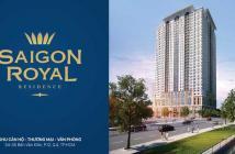 Cần bán gấp căn hộ - Sài Gòn Royal - 54m2, 1PN, view đẹp, giá tốt 3,25 tỷ. LH: 0909 038 909