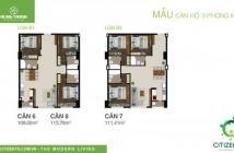 Căn hộ mới 100%, diện tích 83 (m2), giá có VAT 2.3 tỷ, lh 0935539053