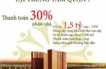 Căn hộ giá tốt nhất khu vực Q. 7 chỉ 22tr/m2 (VAT) 1.5tỷ/căn, căn 2PN. LH: 093.777.4284