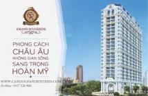 Bán căn hộ Grand Riverside, mặt tiền Bến Vân Đồn, quận 4. Giá chỉ 1.8 tỷ, CK 5%, tặng bếp 250 triệu