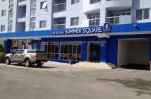 Mở bán đợt đầu căn hộ Summer Square gần chợ Phú Lâm, Quận 6, 1,2 tỷ/ căn, giá CĐT