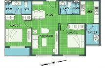 Chủ nhà bán căn hộ Lotus Garden - Q. Tân Phú, DT 77,47m2, 2PN, 2WC, bếp, sân phơi, vị trí đẹp