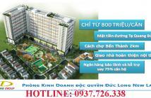 Chỉ 500tr sở hữu offictel shophouse 1.69 tỷ căn hộ 900tr MT Tạ Quang Bửu Q8. (Hotline 0937 726 338)