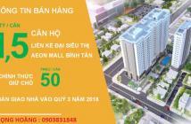 Hot, bán suất nội bộ từ Hưng Thịnh Corp căn hỘ Moonlight Park View quận Bình Tân, giá 1,3 tỷ