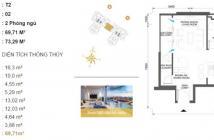 Bán căn số 2 tháp T2 Masteri giá chỉ 38tr/m2. LH: 0901 496 279