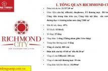 300 căn officetel Chủ đầu tư Hưng Thịnh, mặt tiền đường Nguyễn Xí, LH nhận bảng giá CĐT: 0933973003
