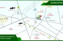 Bán căn hộ gần sân bay, chỉ 1.9 tỷ căn 71m2 2PN - MB bank cho vay, 0909885593
