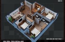 Bán căn hộ Tecco Central Home ngay chợ Bà Chiểu chỉ 1,8 tỷ/căn