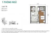 Nay tôi cần sang nhượng gấp căn hộ 1PN dự án Estella Heights, view Đông Nam, giá 2,7 tỷ