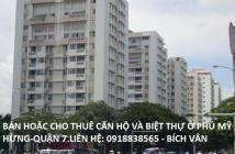 Cần bán gấp CH Mỹ Khánh 1- PMH- Quận 7. DT: 118m2 NTĐĐ, giá: 3,5tỷ LH: 0918838565