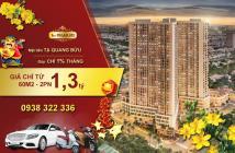 Hot, chỉ với 1,3tỷ sở hữu căn hộ cao cấp The Pega Suite tiêu chuẩn Đức ngay TT Quận 8, tháng góp 1%