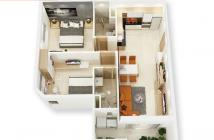 Chỉ 850 triệu sở hữu ngay căn hộ 2PN- 2WC, nội thất cao cấp quận Q12