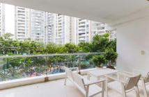 Thiết kế ban công thoáng rộng làm vườn mini tại căn hộ cao cấp The Estella