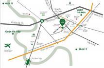 Căn hộ Đạt Gia chuẩn bị bàn giao nhà, gần ngay Phạm Văn Đồng. DT 60m2, 2PN, giá 930tr