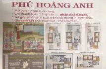 Mở bán 19 căn cuối cùng căn hộ Phú Hoàng Anh, 129m2 có 3PN 3WC, chỉ TT 1.2 tỷ nhận nhà ở ngay