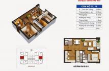 Bán căn góc 1503 CT36 Định Công, S= 59.8m, giá 24tr/m (có TL)