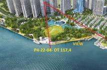 Bán căn 3pn tòa Park 4 trung tâm dự án Vinhomes Central Park 117.4 m2 view đẹp, tặng 10 năm phí quản lý. 0932696323