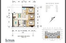 Bán gấp căn hộ Leman Luxury, căn góc DT 96m2, 3PN, 2WC, tầng cao view đẹp, giá 4.9 tỷ